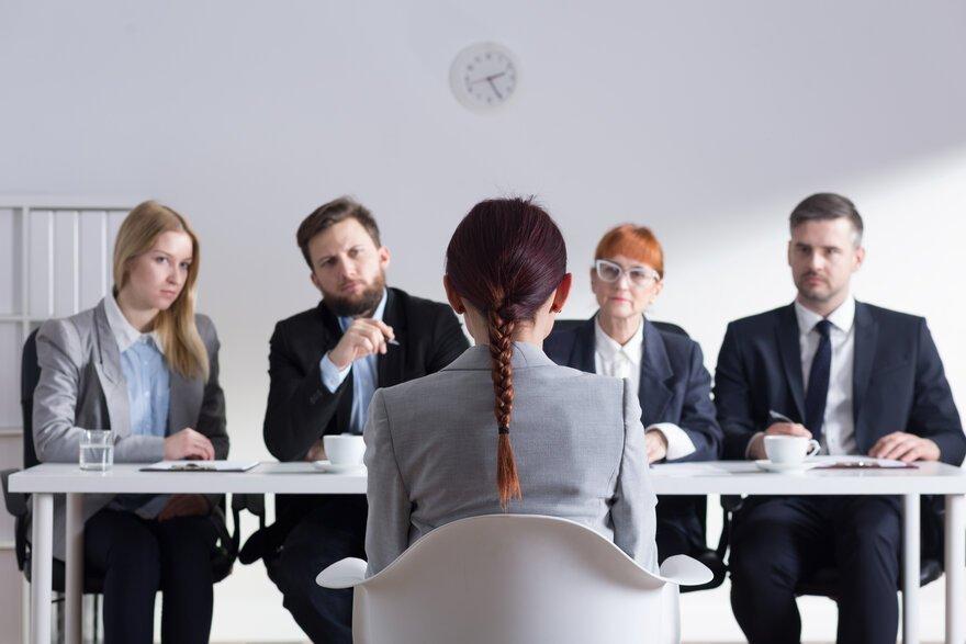 iş görüşmesi